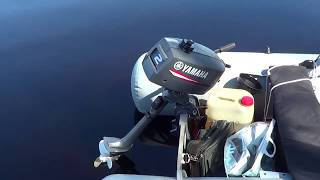 Човновий мотор Ямаха 2 л з yamaha 2CMHS