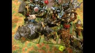 [8th CBR #55] Cthullu Chaos vs Orcs and Goblins Dragonfall practice 2000 pts