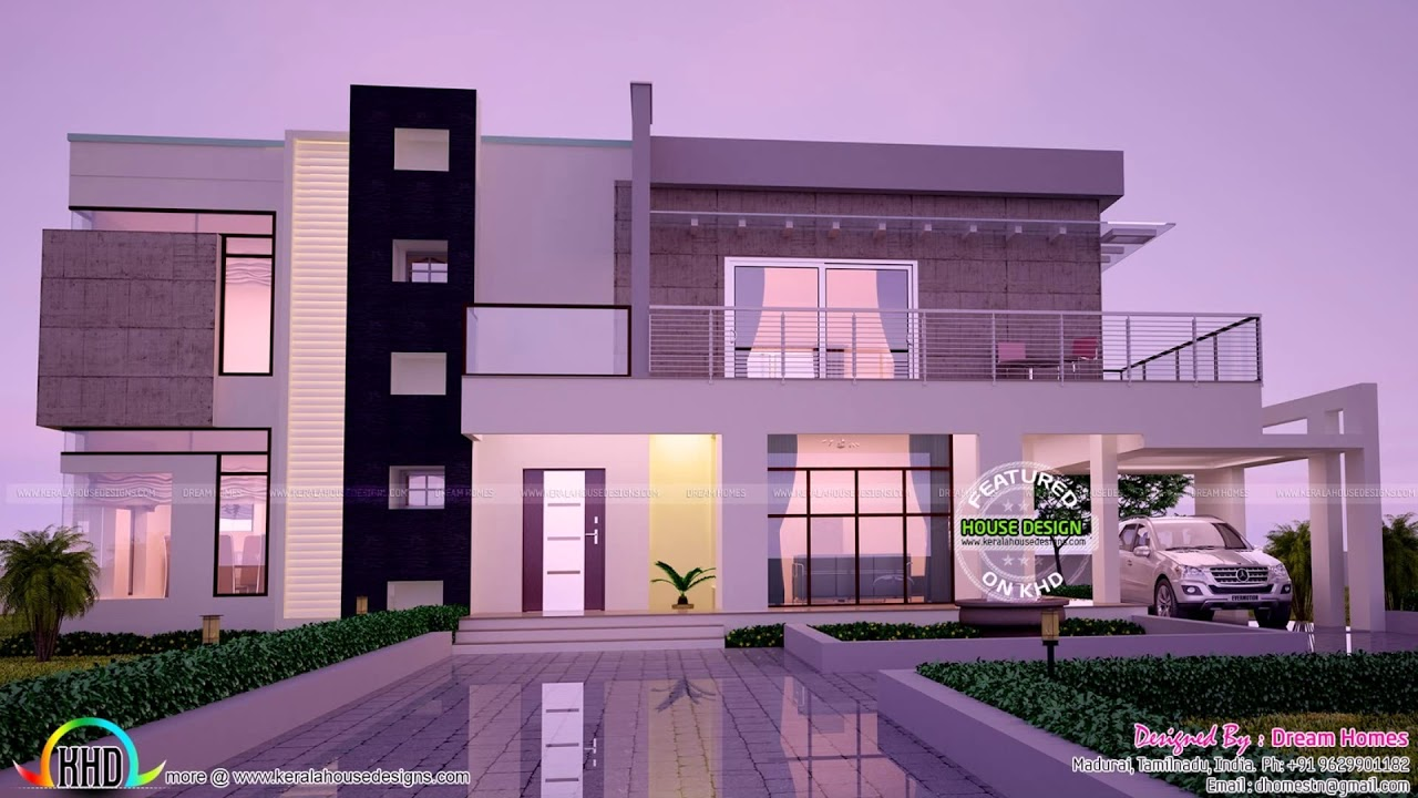 Modern House Elevation Designs India Youtube