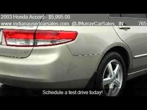 2003 Honda Accord EX-L Sedan 4D - for sale in LAFAYETTE, IN