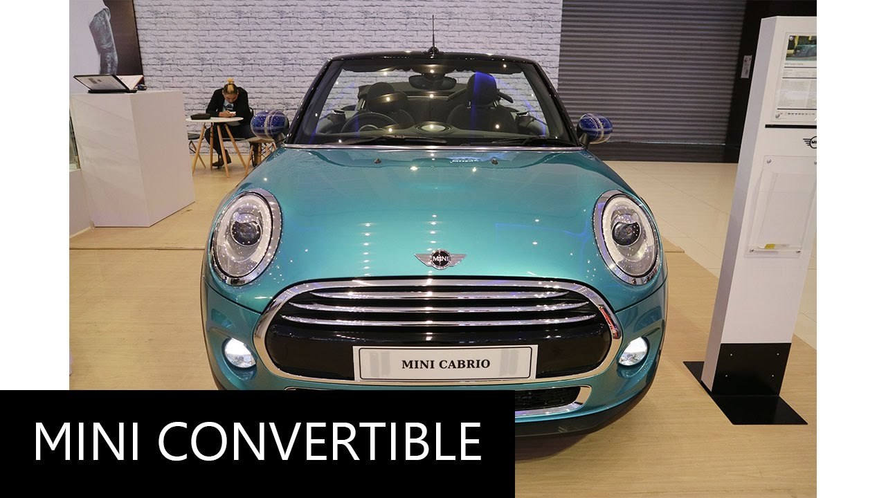 Mini Convertible F57 Walkaround Exterior And Interior Youtube