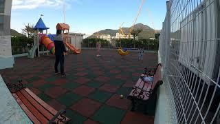 고프로8 타임슬립 촬영 캐치볼 놀이