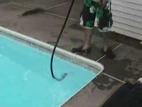 Swimming Pool Solar Water Bag Youtube