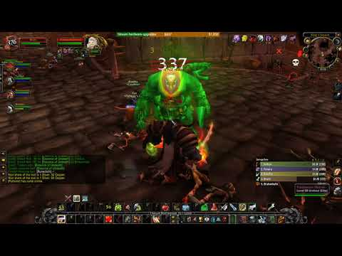 WoW Dungeon Tanking Guide - Tanking Stratholme (Live side)