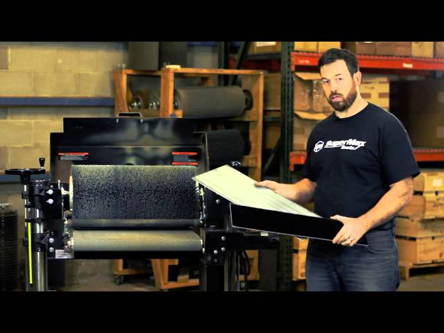 Scuff Sanding Glossy Material with the SuperBrush Sander