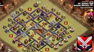 Sphinx Gowipe gg TH10 ★ CoC Clanwar German Allstars #002