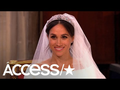 Princess Diana's Wedding Dress Designer Reviews Meghan Markle's Givenchy Gown | Access