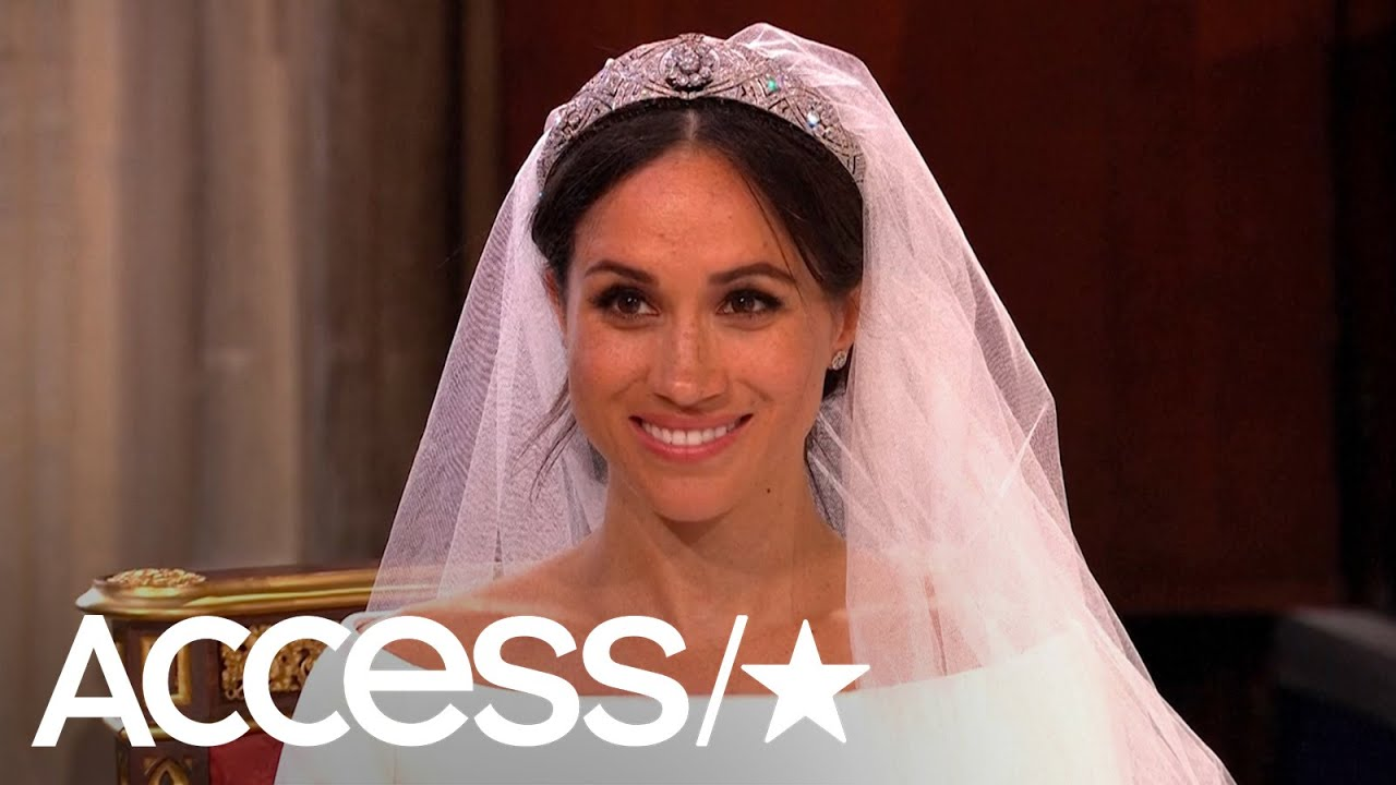 Princess Diana S Wedding Dress Designer Reviews Meghan Markle S