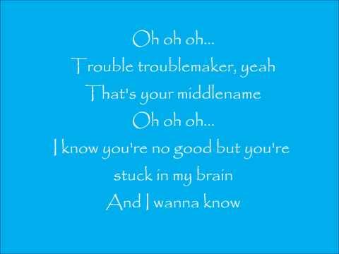 Troublemaker with lyrics!!