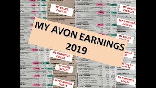 My Avon Earning 2019