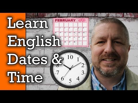 Learn how to use English words for time - Yesterday, Today, Tomorrow and more!