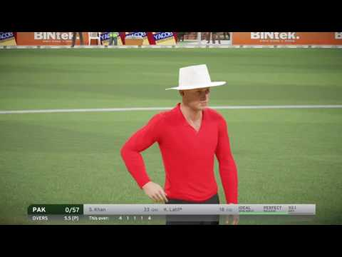Pakistan vs Australia.. Live. Full Match..  Don Bradman Cricket 2017