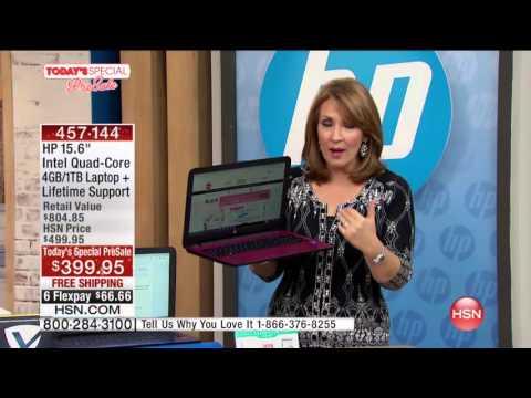 "HP 15"" Intel QC 4GB/1TB Laptop"