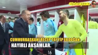 Recep Tayyip Erdoğan'a soyunma odasında çıplak yakalanan İsmail Köybaşı!