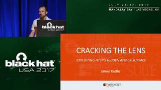Cracking the Lens: Targeting HTTP's Hidden Attack-Surface