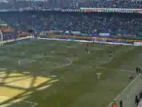 accoglienza ronaldo derby inter-milan 11...