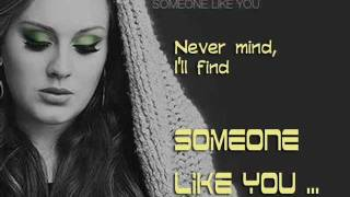 Someone Like You (Rock Version) - Adele Lyric Video