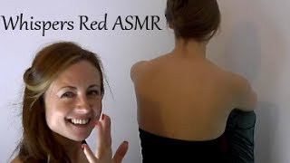 Repeat youtube video Childhood ASMR Triggers - #1 Back Tickling - Soft Spoken - Close Up