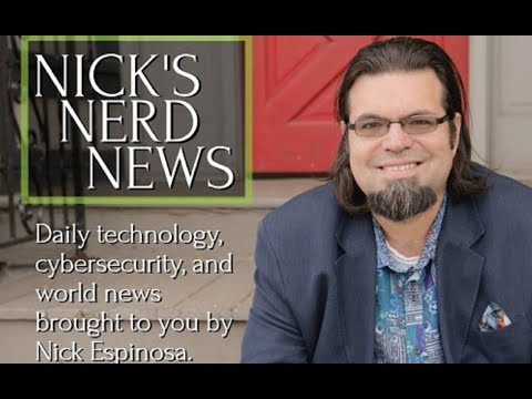 Flat Earth Clues interview 261 Nerd News with Nick Espinosa ✅ thumbnail