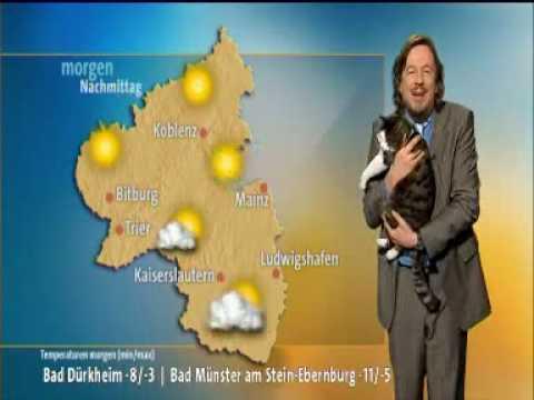 Der, nach Bernd, beste Wettermann bekommt ganz viel Pussy.