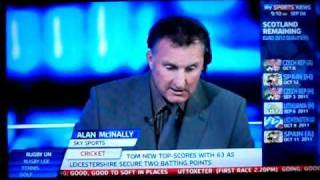 Scotland 2 - 1 liechtenstein Alan Mcinally last min goal reaction SKYSPORTS