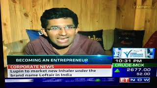 Leaders of Tomorrow Episode on ET Now covering Dr Ritesh Malik's Innov8 Coworking