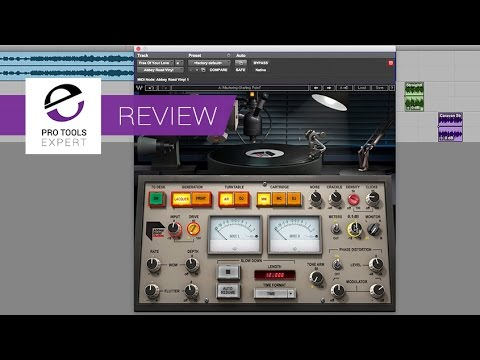 Review Of Abbey Road Vinyl Plugin Youtube