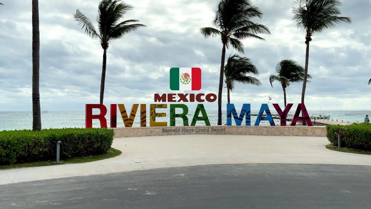 1 Hour Resort Tour Walkthrough | Barcelo Maya Riviera Hotels | Beach & Pools | Mexico ?? | 4K Tr