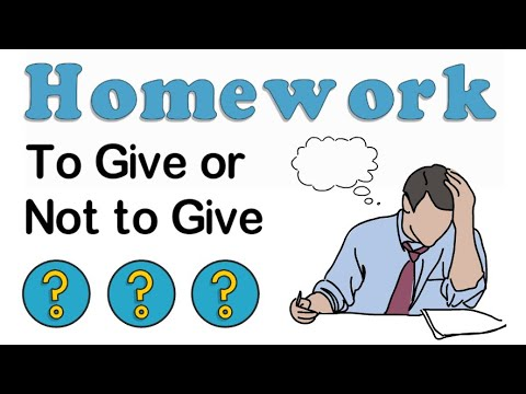 Homework: Pros and Cons