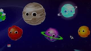 Planet lagu | belajar planet untuk kanak-kanak | solar sistem sajak | Planet Song | Educational Song