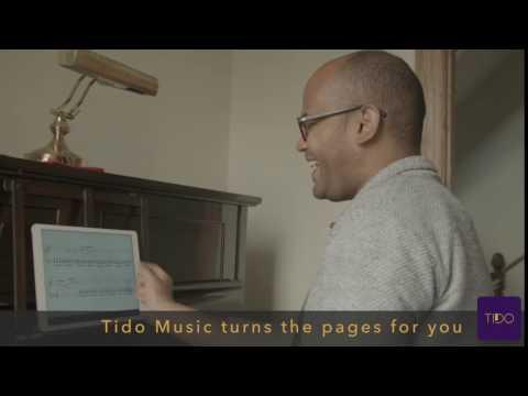 Tido Music iPad app: automatic page-turning