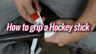 How to grip a Hockey stick