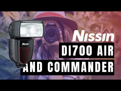 Nissin Di700 Air and Commander Demonstration from Kenro