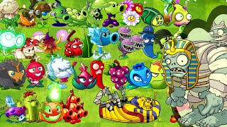 Every Premium Plant Power Up vs Gargantuar Egypt in Plants vs Zombies 2 All Plants with Power Up