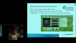 HTML5 in a Plasma-Active World - ELC 2012