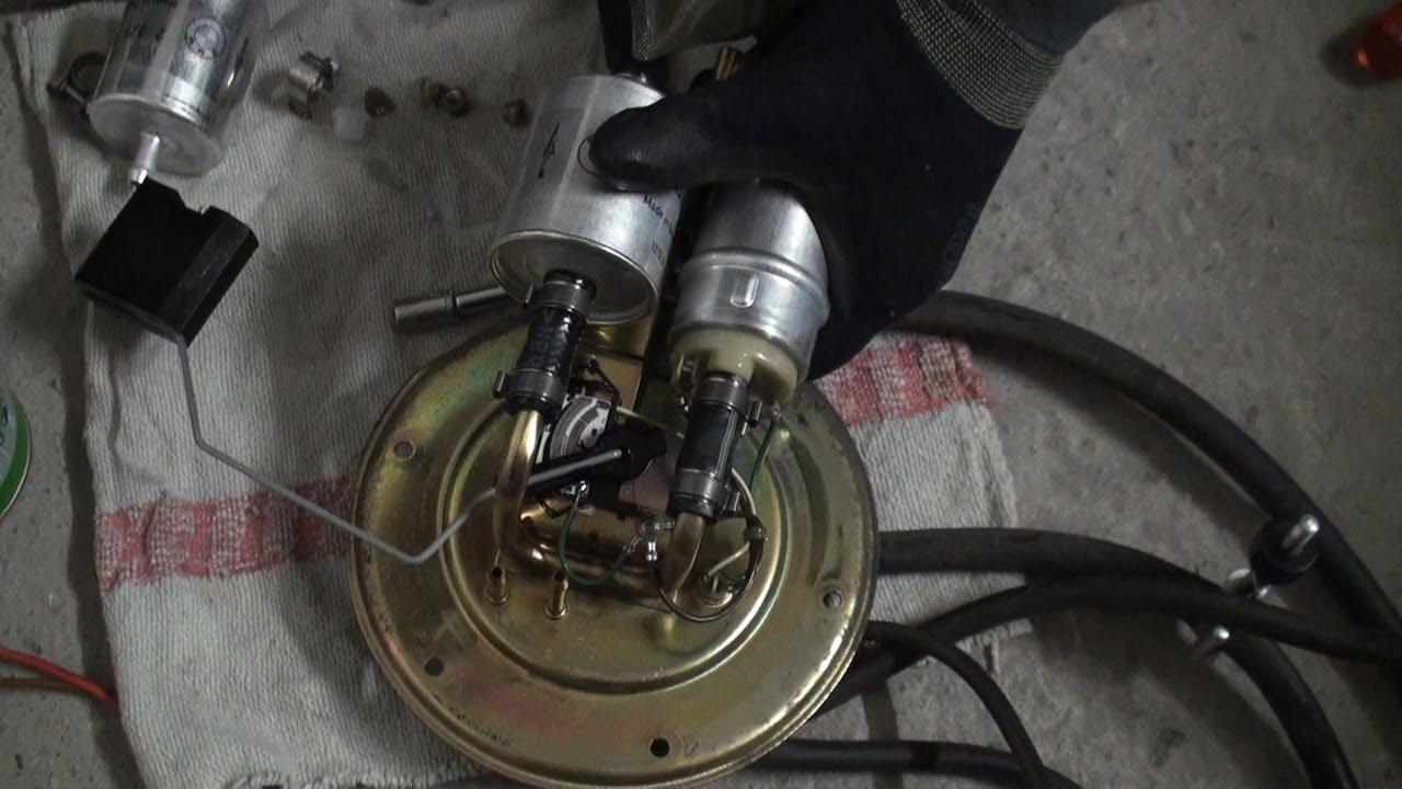 Bmw R 850 R Benzinpumpe Filterwechsel Youtube