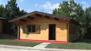 Casa Prefabbricata Antisismica : Casa in legno