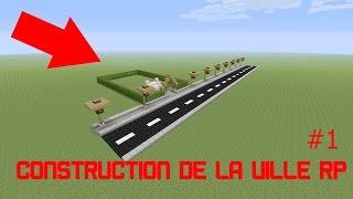 CONSTRUCTION DE MA VILLE RP #1 ! MINECRAFT (PS4) FR