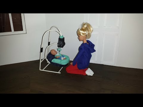 How to make a Doll Baby Swing