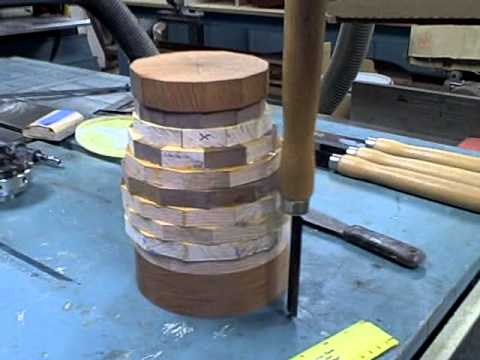 Woodworking Segmented Turning Pt 2