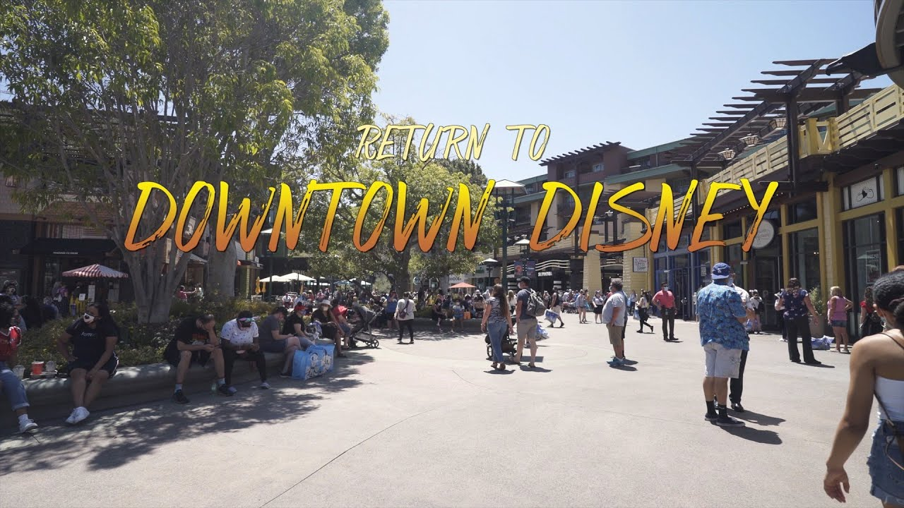Return to Downtown Disney! | Dare to Disney Vlogs