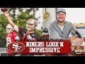 49ers OTAs - Jimmy Garoppolo Rolling Right Along With Offense | Joe Staley Signs Two-Year Extension
