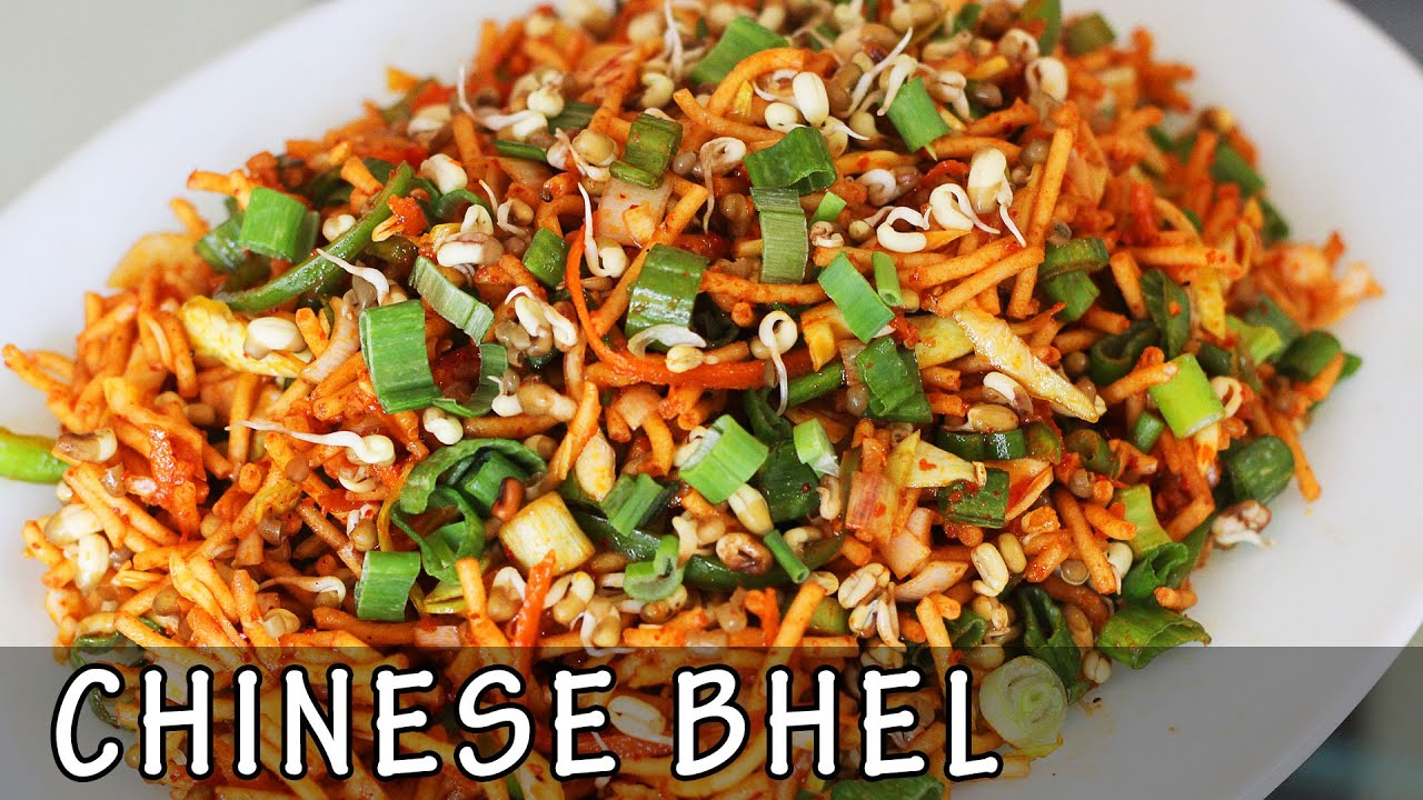 Chinese bhel crispy noodle veg recipe kanaks kitchen hd youtube forumfinder Images