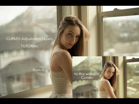 Curves Adjustment Layer Tutorial for Photoshop