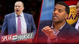 Thibodeau could 'go back to the man he was' if coaches LA - Jim Jackson   NBA   SPEAK FOR YOURSELF