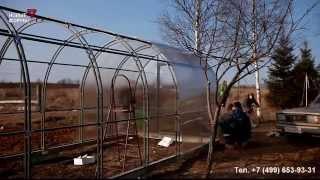 видео Продажа тепличных конструкций из стали