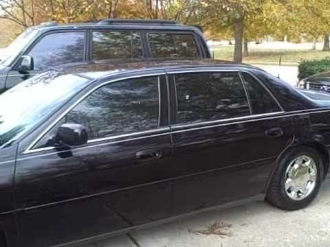 2000 cadillac deville personal limo for sale youtube. Black Bedroom Furniture Sets. Home Design Ideas