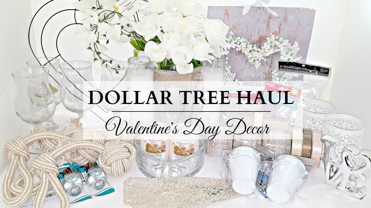 Dollar Tree Haul Neutral Valentine S Day Home Decor Items Diy Supplies