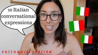 10 Italian expressions to use in conversation | Learn Italian with Lucrezia