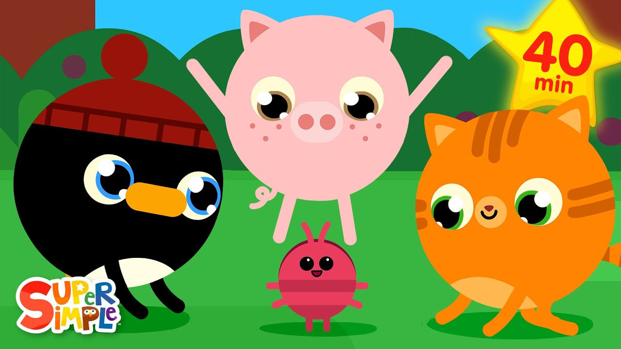 The Roly Poly Roll | + More Kids Songs | Super Simple Songs